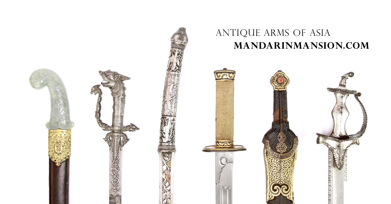 www.mandarinmansion.com - antique arms of Asia