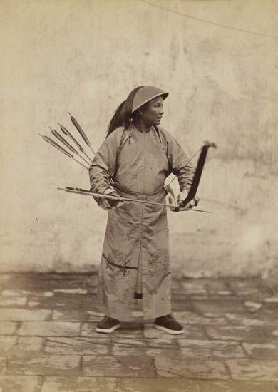 A Manchu archer