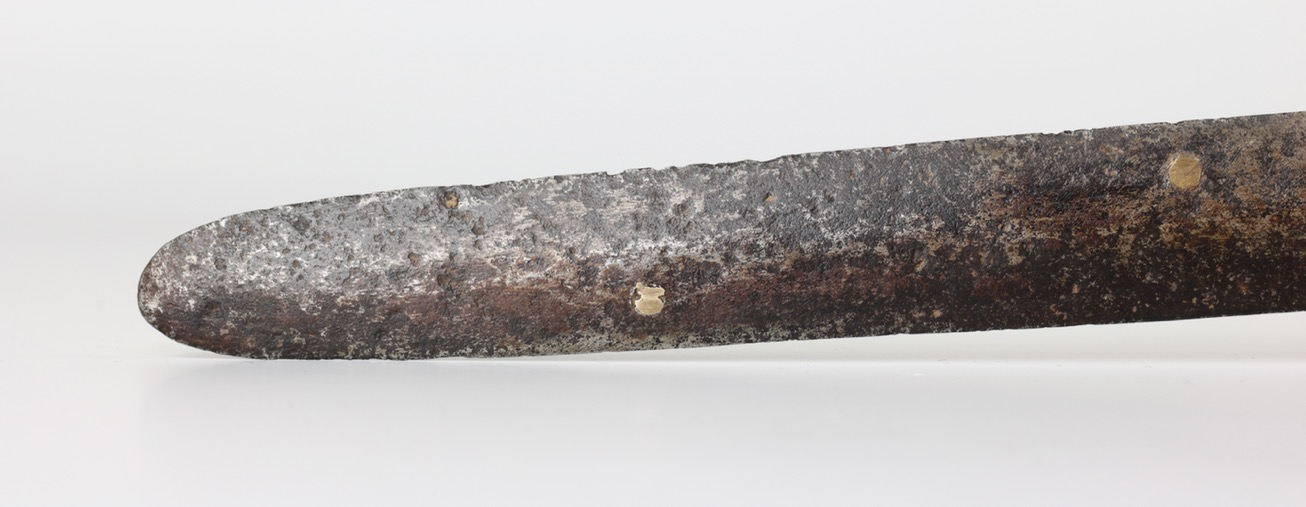 Antique Ming dynasty militia jian