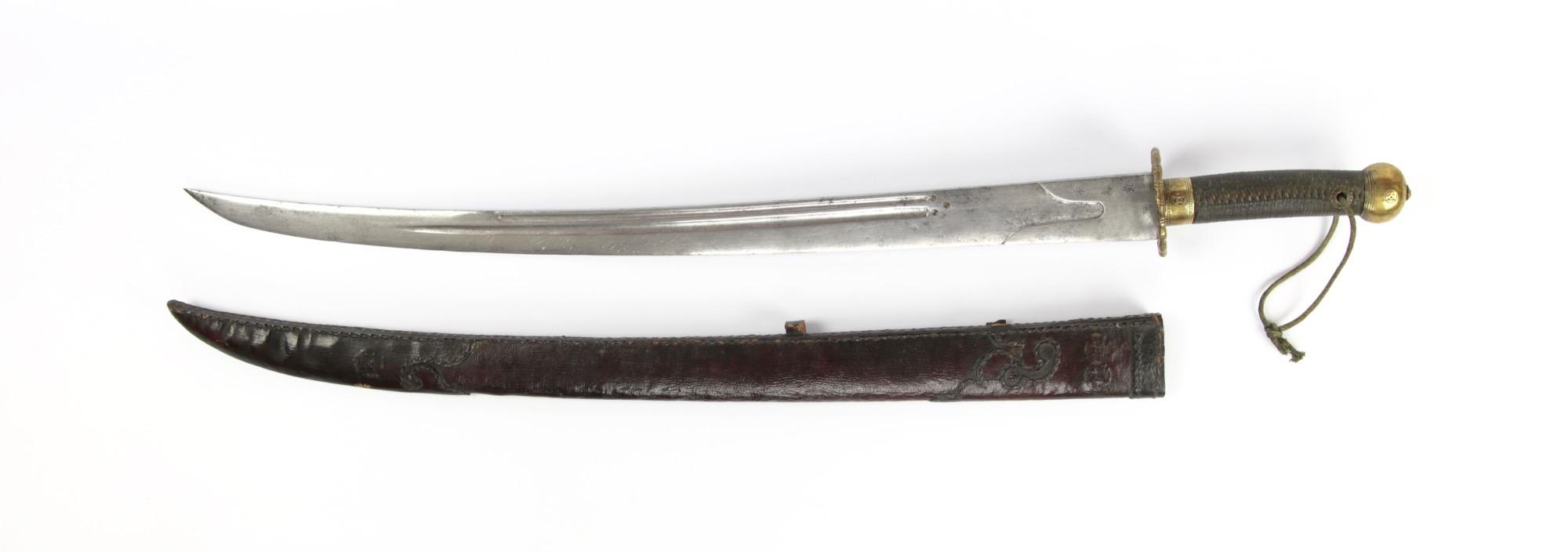 A Chinese southern bannerman saber
