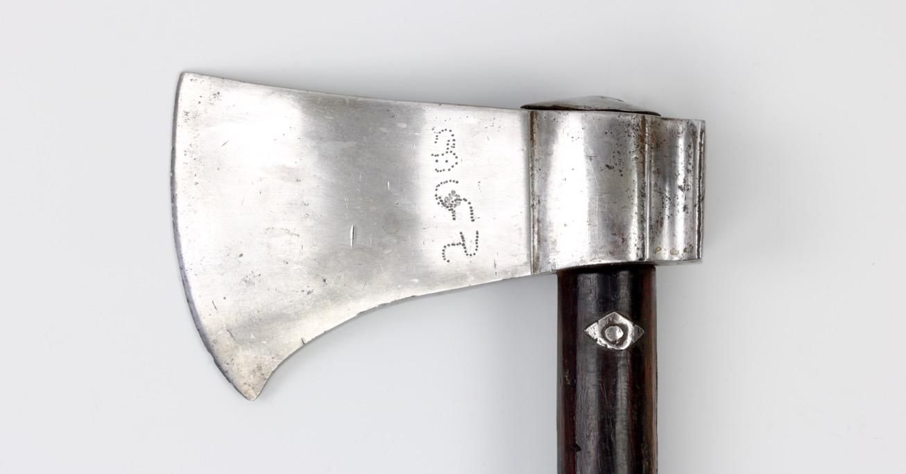 A war axe from Bikaner
