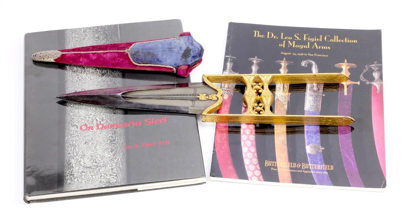 Butterfield & Butterfield Leo Figiel collection sale, katars