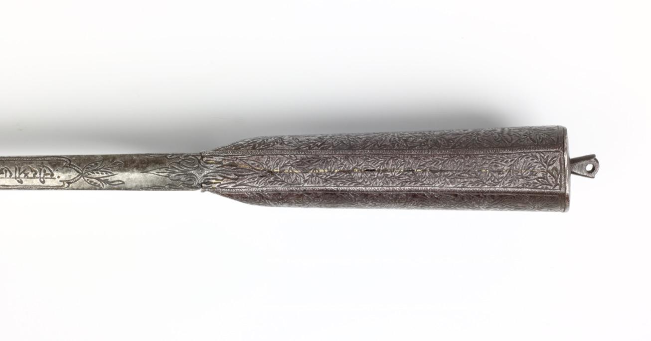 A massive Indian karud dagger