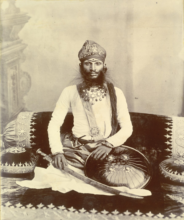 Raghubir Singh of Bundi. Ruled 1889 - 1927.