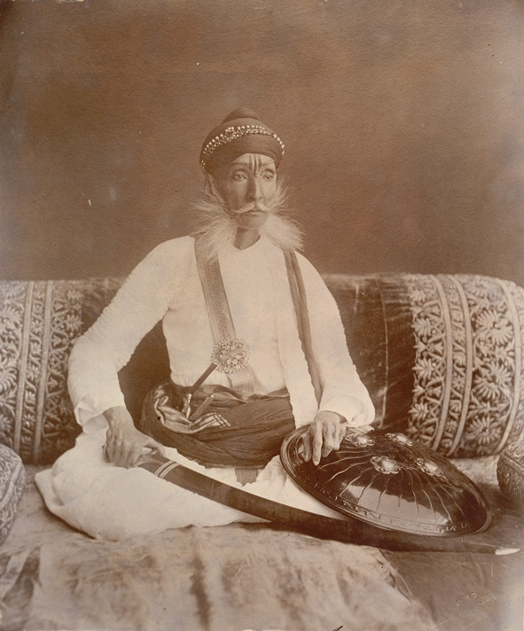 Ram Singh of Bundi. Ruled 1821 - 1889.