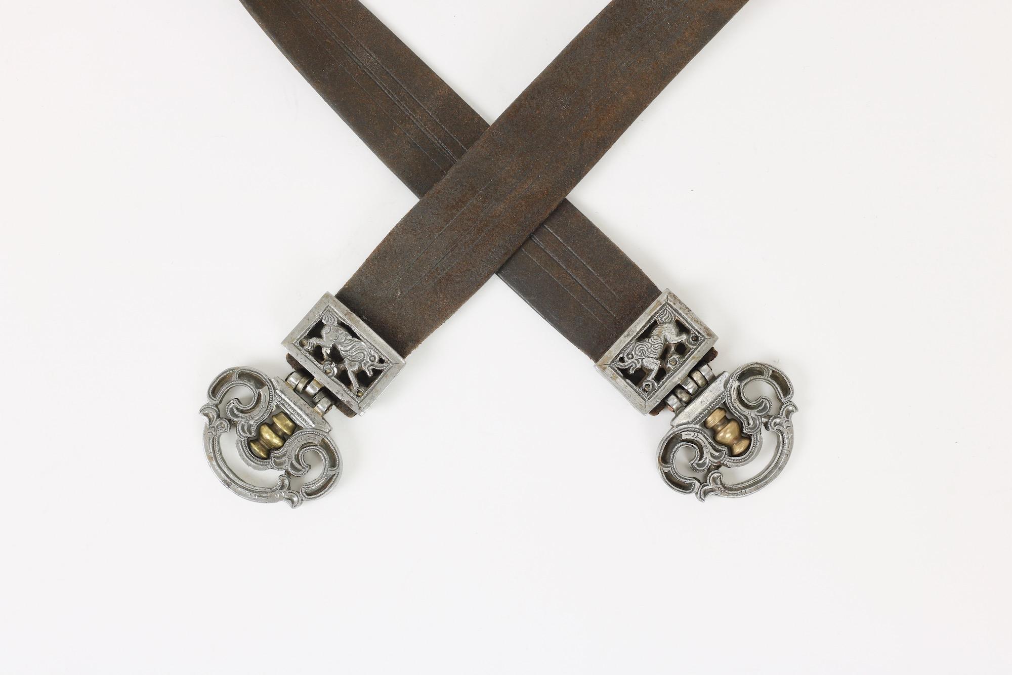 An antique Mongolian knife