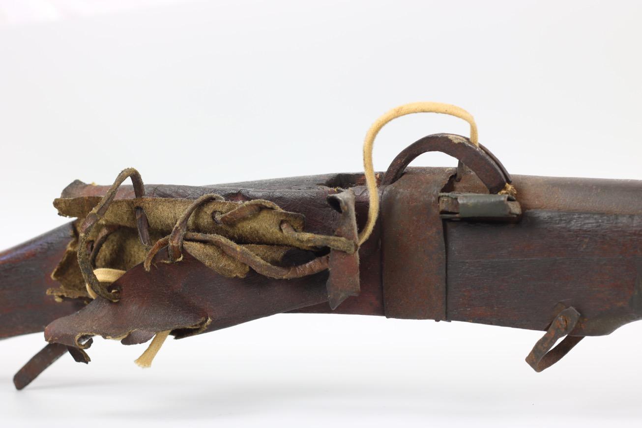 A Chinese matchlock musket