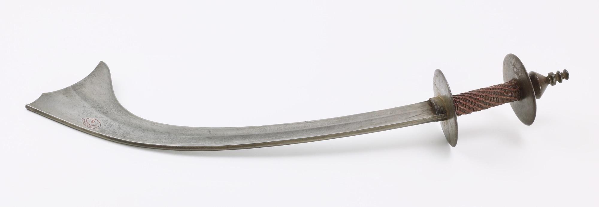 A fine Nepalese kora with pattern welded blade
