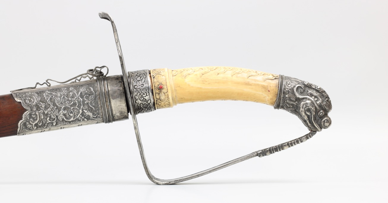 An excellent Vietnamese ceremonial saber