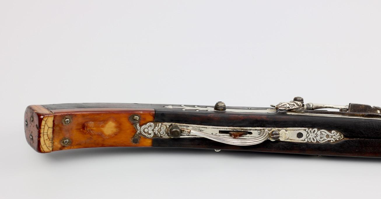 Trigger plate of a Vietnamese matchlock musket.