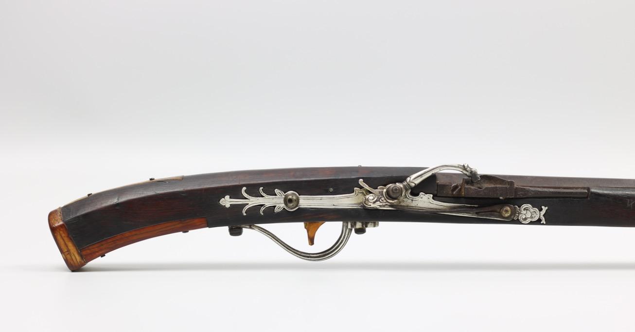 Lock of a Vietnamese matchlock musket.