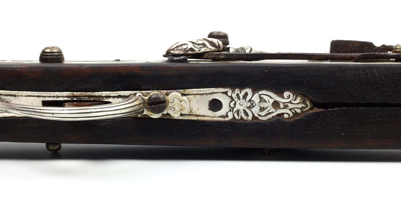 Stock of a Vietnamese matchlock musket.