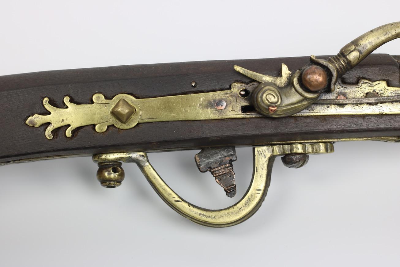 A rare Vietnamese matchlock musket.